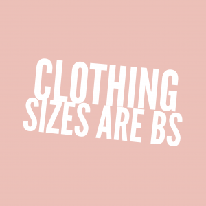 There is a huge problem with the way women's clothing is sized and it affects the psyche, body image, and self confidence of many women, including me. I've recently decided to stop trying to fit into my old clothing and here is why.