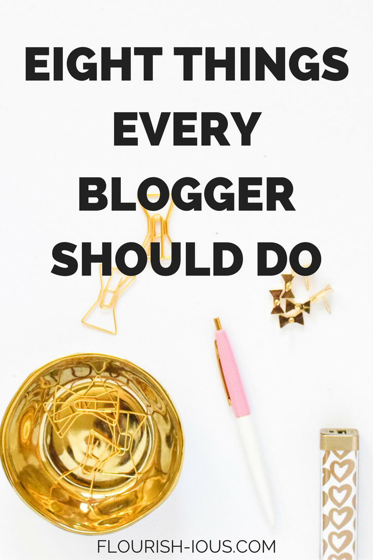 Blogger life can be tough! It's easy to get wrapped up in it all. Here are 8 blogging tips to help make you a more successful blogger.