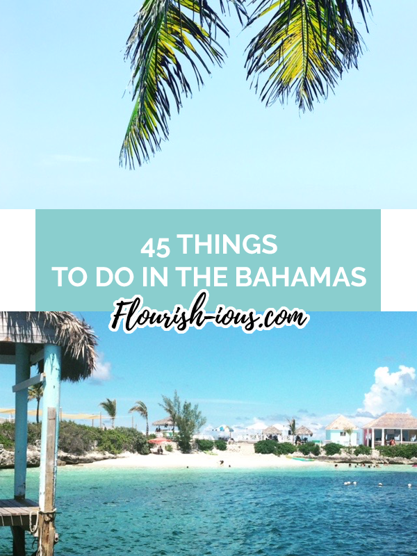 Traveling to the Bahamas? Make sure you check out these local Bahamian spots. These are the 45 things you need to do when you visit the Bahamas