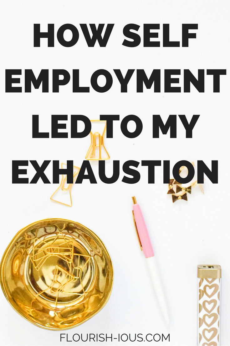 Starting your own business is a lot of hardwork and sometimes you can neglect your health. This is how I being my own boss led to my clinical exhaustion and almost ruining my business.